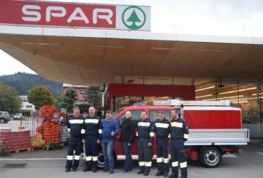 21.10.2016: Sponsor Spar Spruzina