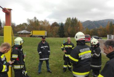 23.10.2016: Übung Branddienstleistung