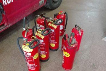 13.05.2017: Feuerlöscher- überprüfung