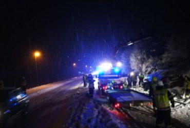 04.12.2017: Verkehrsunfall Höhe Mürzbrücke