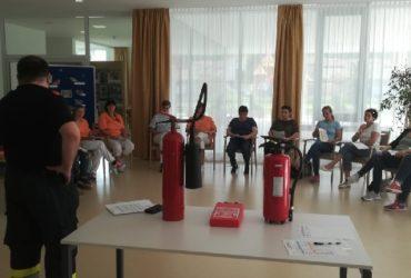 23.05.2018: Erste Löschhilfe-Schulung