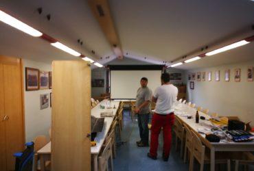 27.04.2018: Umbau – Arbeiten Schulungsraum