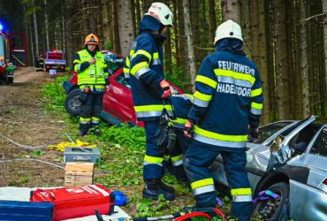 18.05.2019: Übung Verkehrsunfall