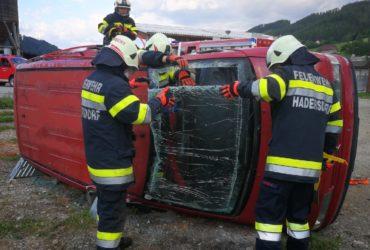 01.06.2019: Übung Techniken Verkehrsunfall