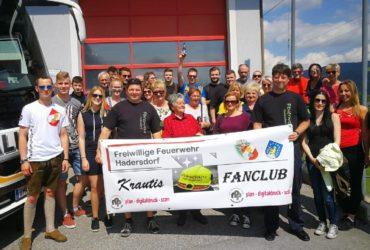 07.06.2019: Fanclub bei Dreharbeiten in Tulln