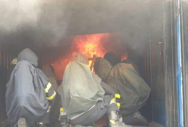23.07.2019: Schulung Brandbekämpfung