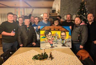 31.12.2019: Geschenk zum Ruhestand