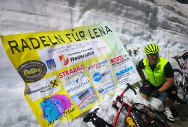 """18.06.2020: """"Radeln für Lena"""" Tourbericht"""