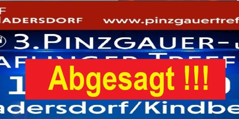 Absage-Pinzgauertreffenbanner