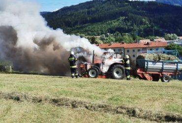 01.08.2020: Einsatz Traktorbrand