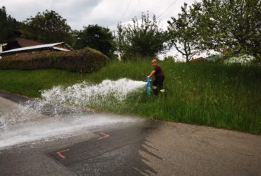 07.06.2021: Hydranten Überprüfung