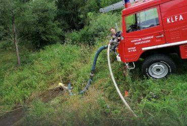 02.08.2021: Einsatz Pumparbeiten